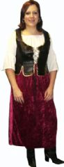 Medieval Tavern Serving Wench Costume